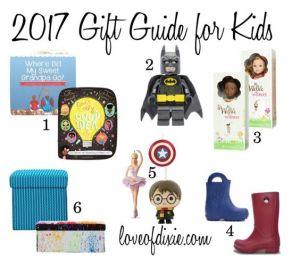 2017 Gift Guide for Kids