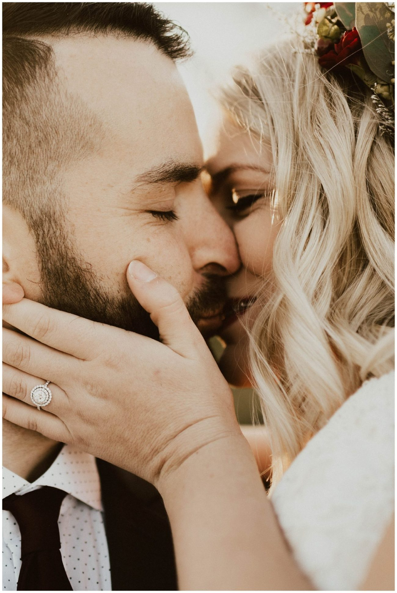 Hannah + Brian // Christmas Cabin Wedding - Lauren F otography