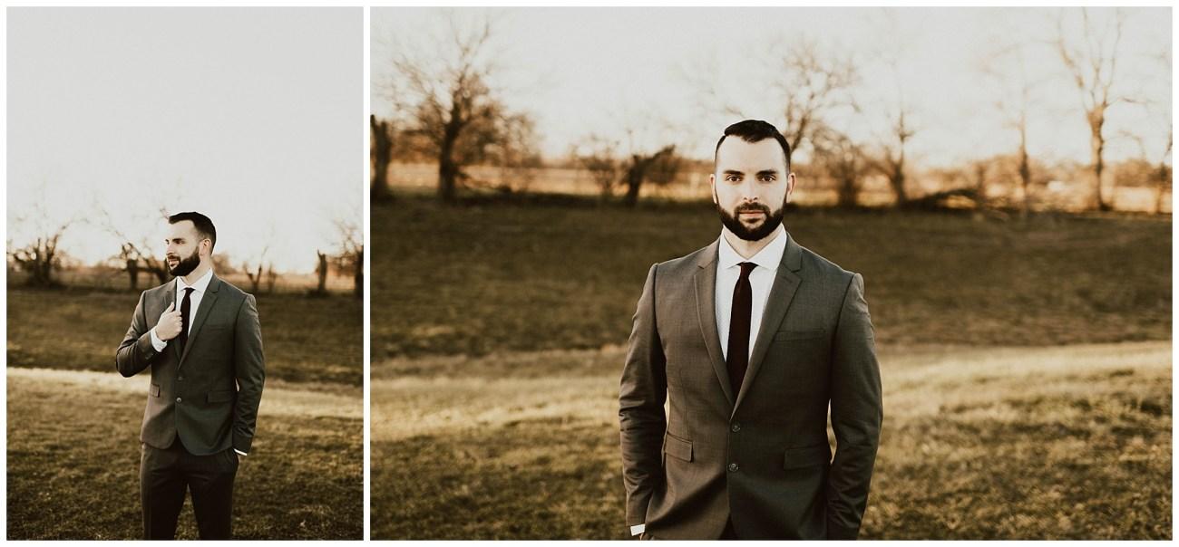 fedf12efb5e Hannah + Brian // Christmas Cabin Wedding - Lauren F.otography ...