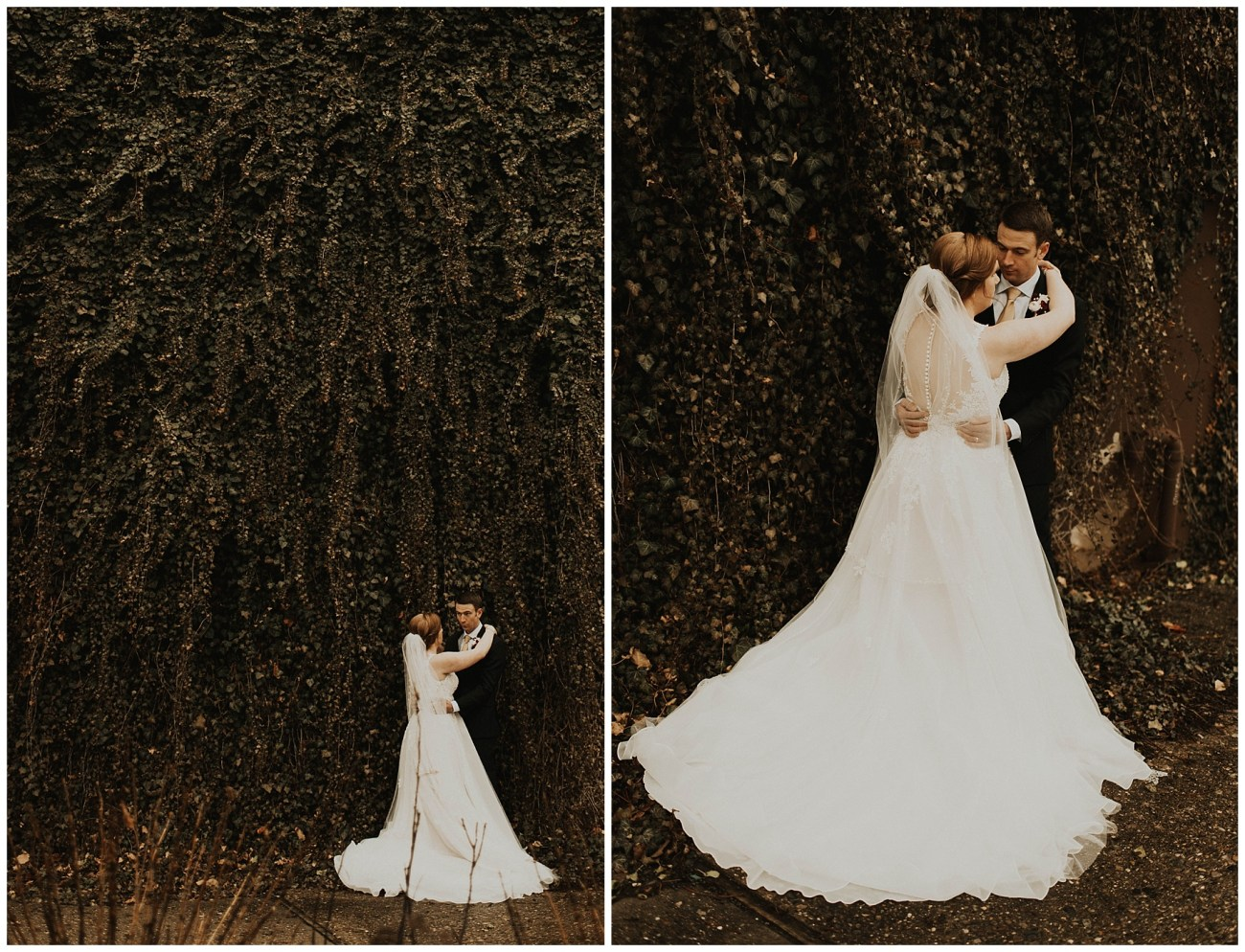cbc93ff7c Johnny + Eliza // Classic Winter Wedding - Lauren F.otography ...