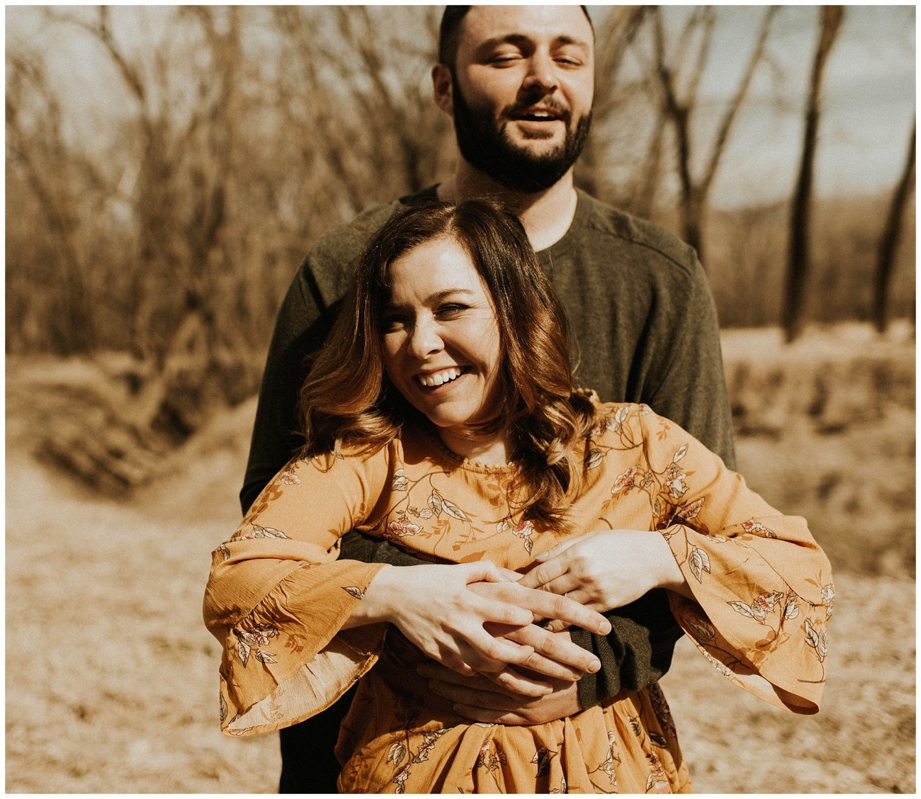 9507f7b62 Charlie + Tiffany    Engagements in the woods – Lauren F.otography