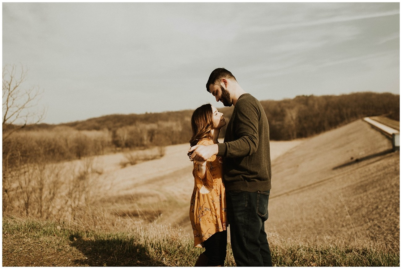 b8799e1751e Charlie + Tiffany // Engagements in the woods - Lauren F.otography ...