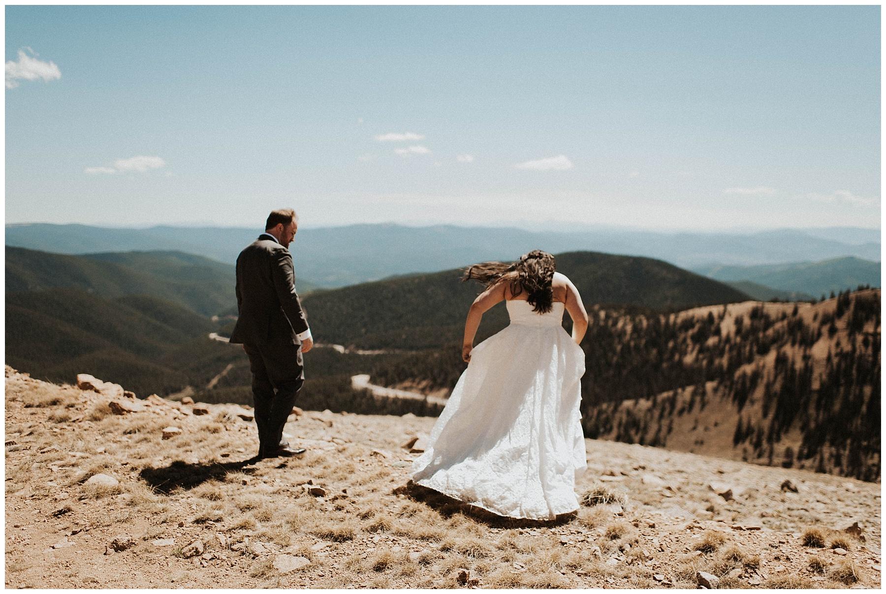 96419870ba22 Ben + Lainee    Desert Colorado Wedding - Lauren F.otography