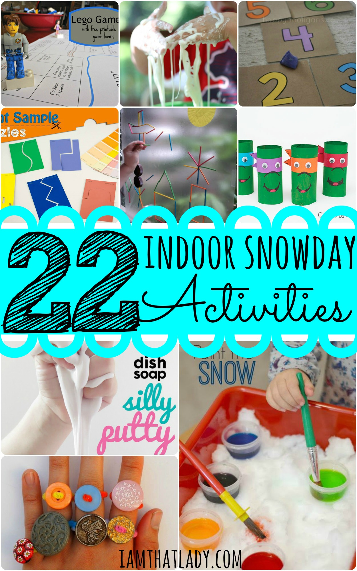 22 Indoor Snow Day Activities