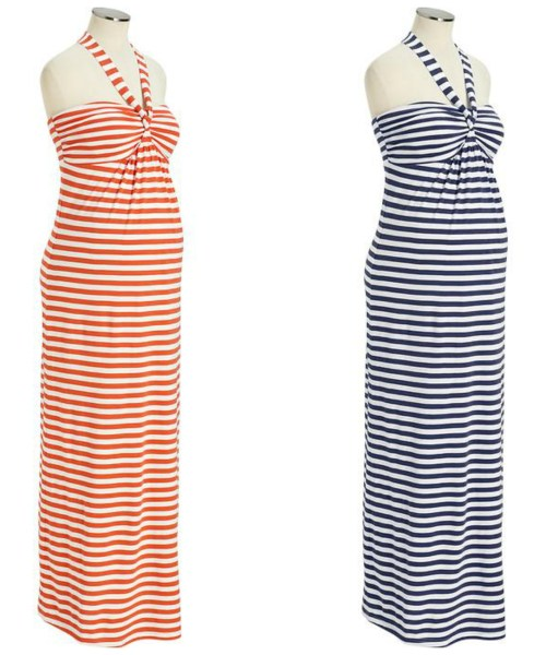 Maternity Fashion: Old Navy Summer Maxi Dresses