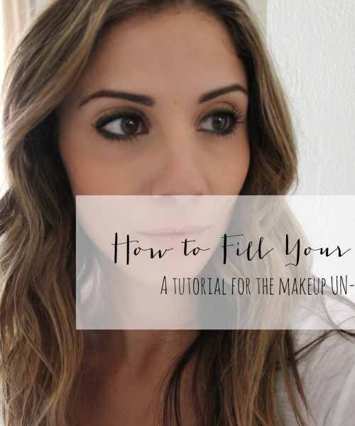 VIDEO: How to Fill Your Eyebrows