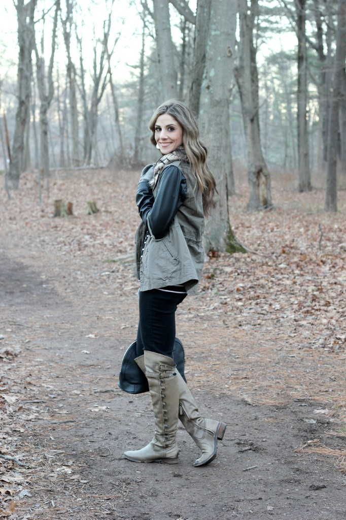 Layered in Leather - Lauren McBride