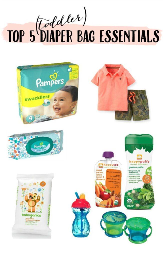 Top 5 Diaper Bag Essentials