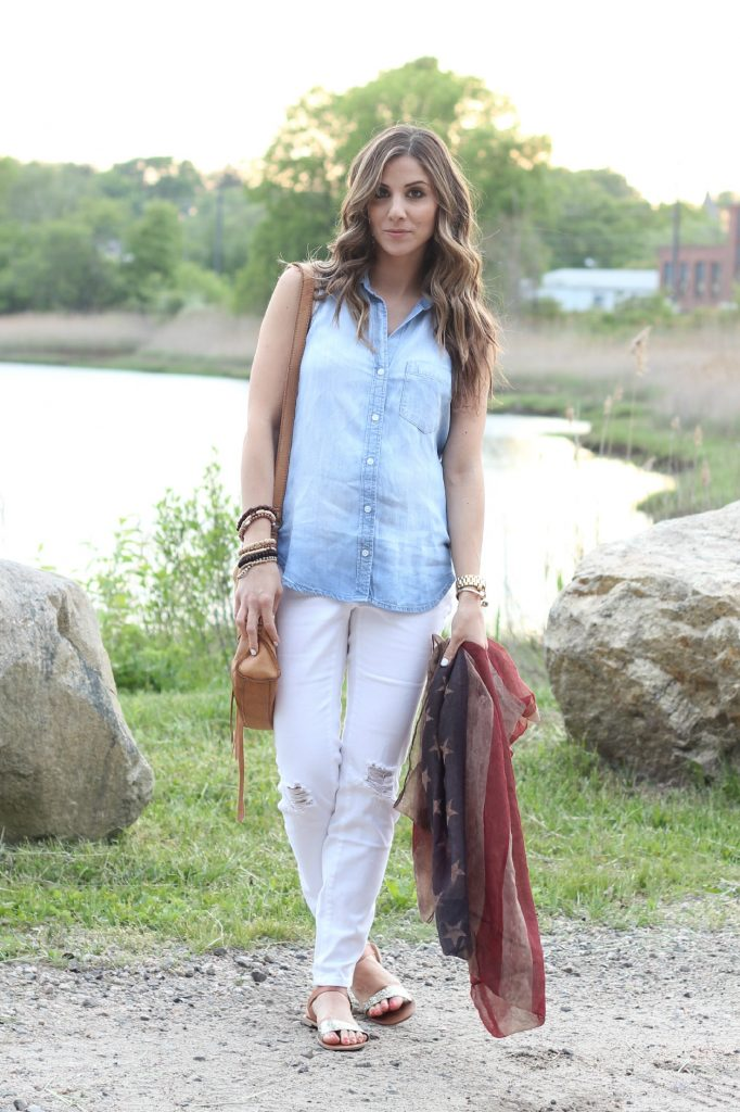 Memorial Day 2015, Red White and Blue Outfit, Lauren McBride