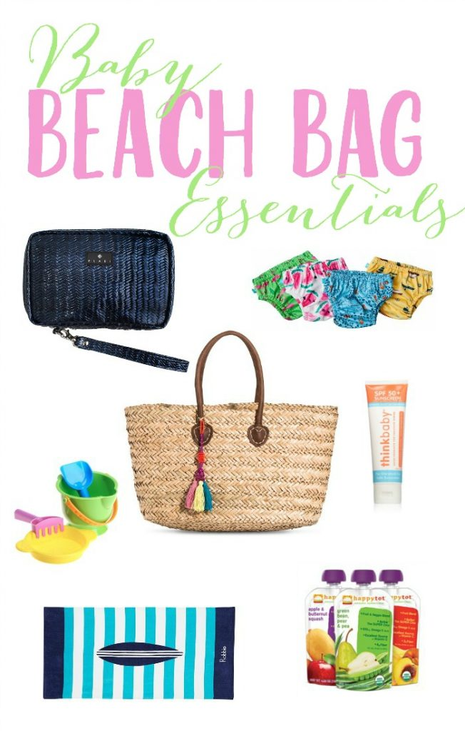 Baby Beach Bag Essentials 2