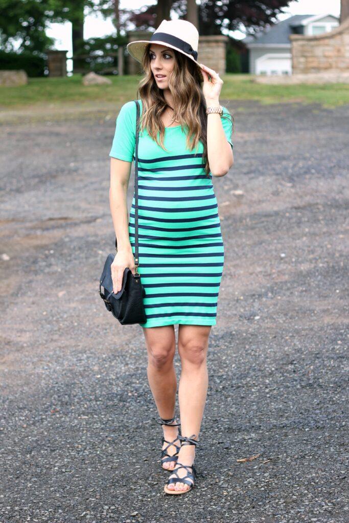 BUMPStyle Box, Tees by Tina Maternity Dress