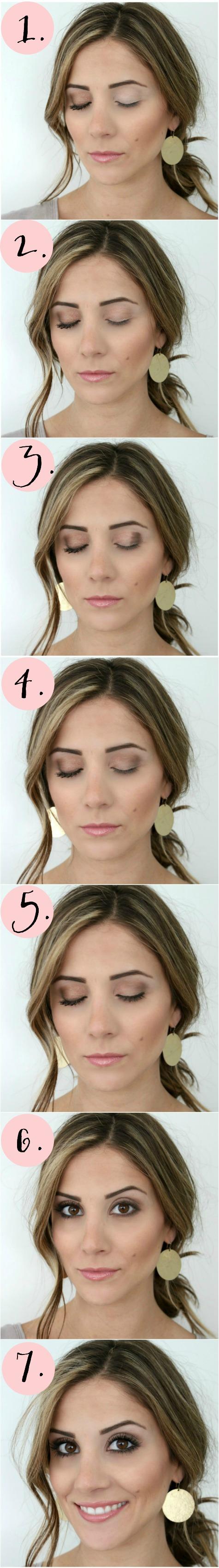 Simple Smokey Eye Makeup Tutorial   Gorgeous & Easy Makeup Tutorials For Brown Eyes