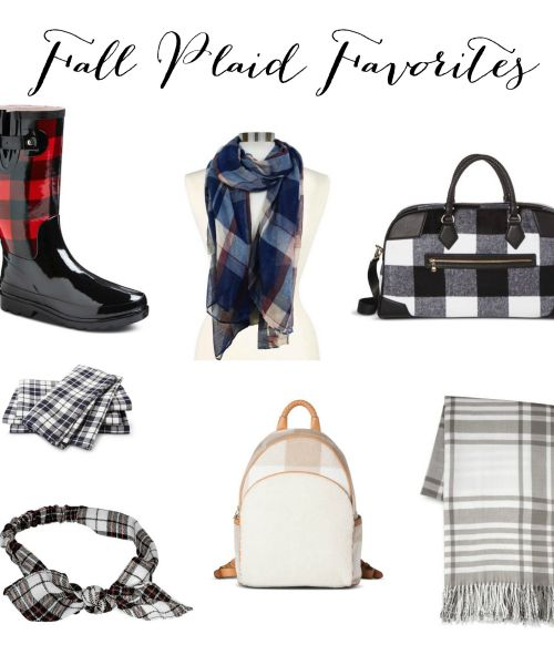 Fall Plaid Favorites