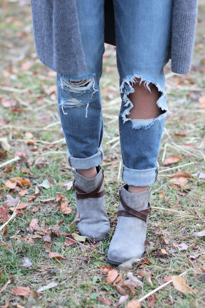 Fall boot trends and how to wear them, fall fashion and how to style lugged sole booties