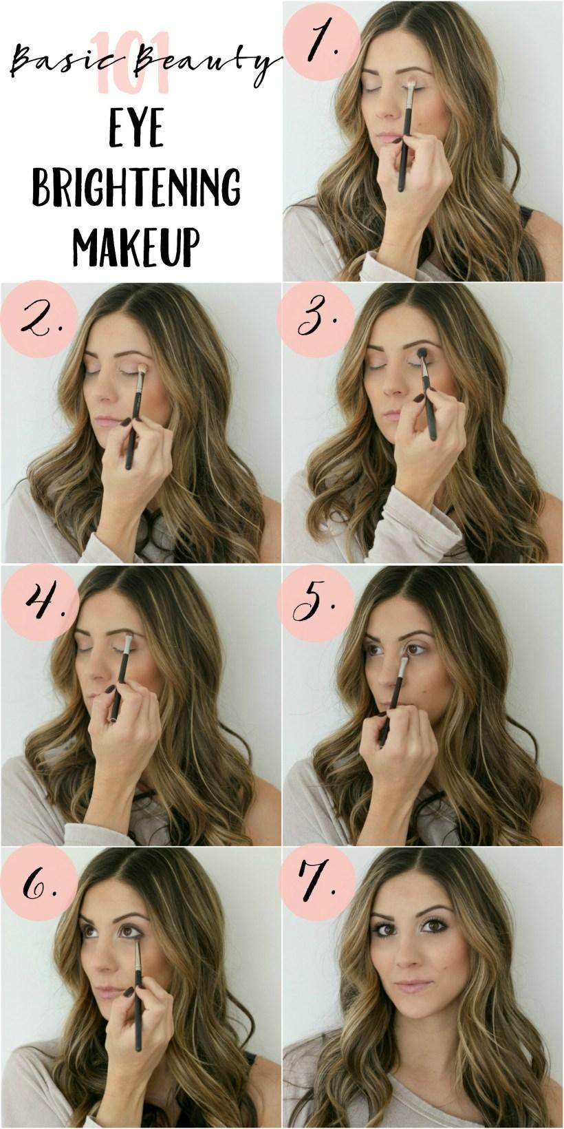 Eye Brightening Makeup Tutorial - Lauren McBride