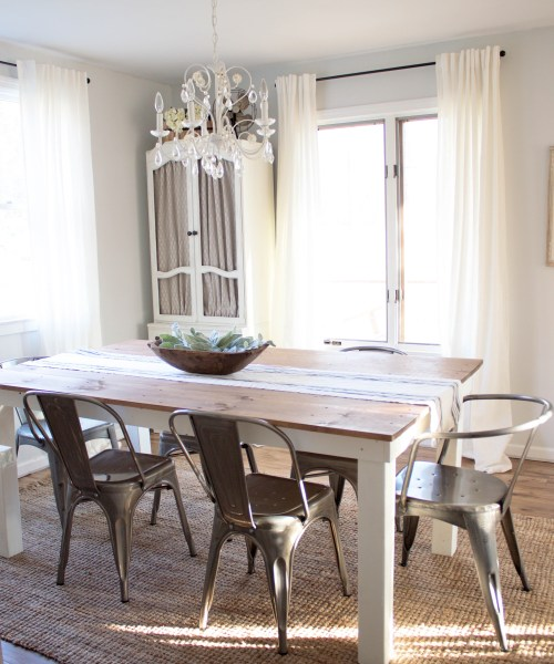 Home // Farmhouse Dining Room