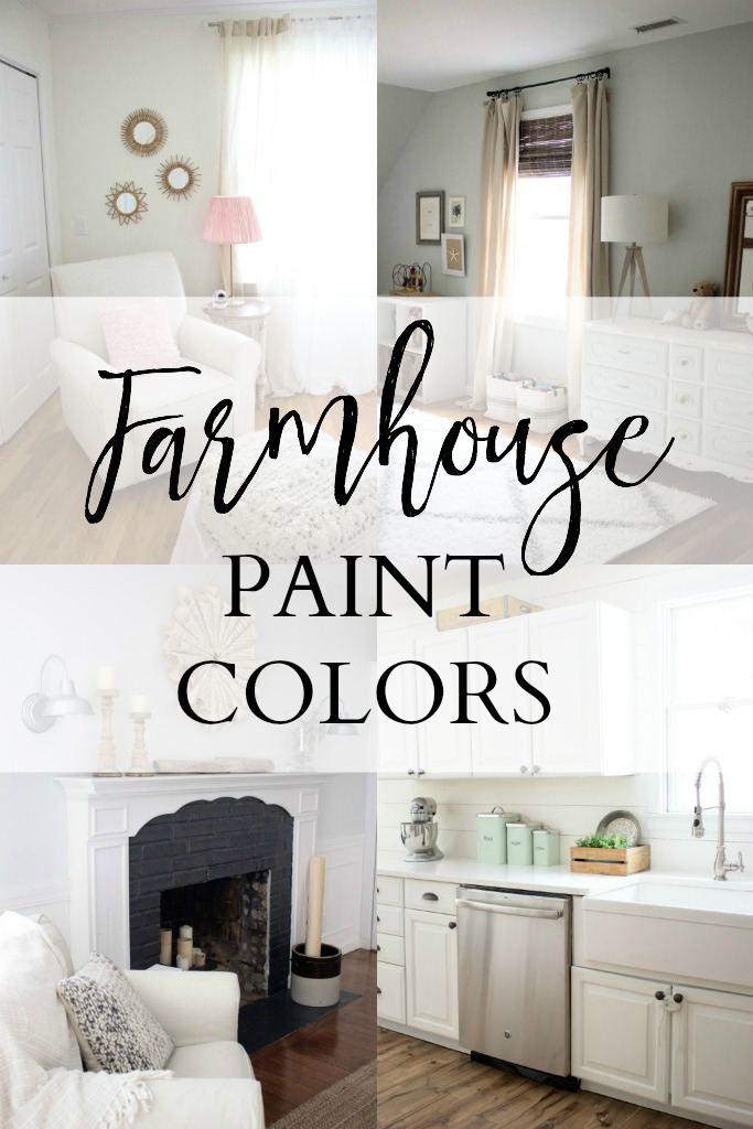 Home // Our Farmhouse Paint Colors - Lauren McBride