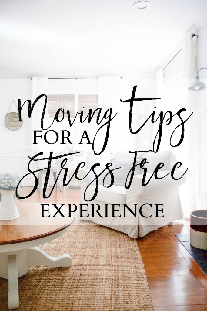 Moving tips for a stress-free experience