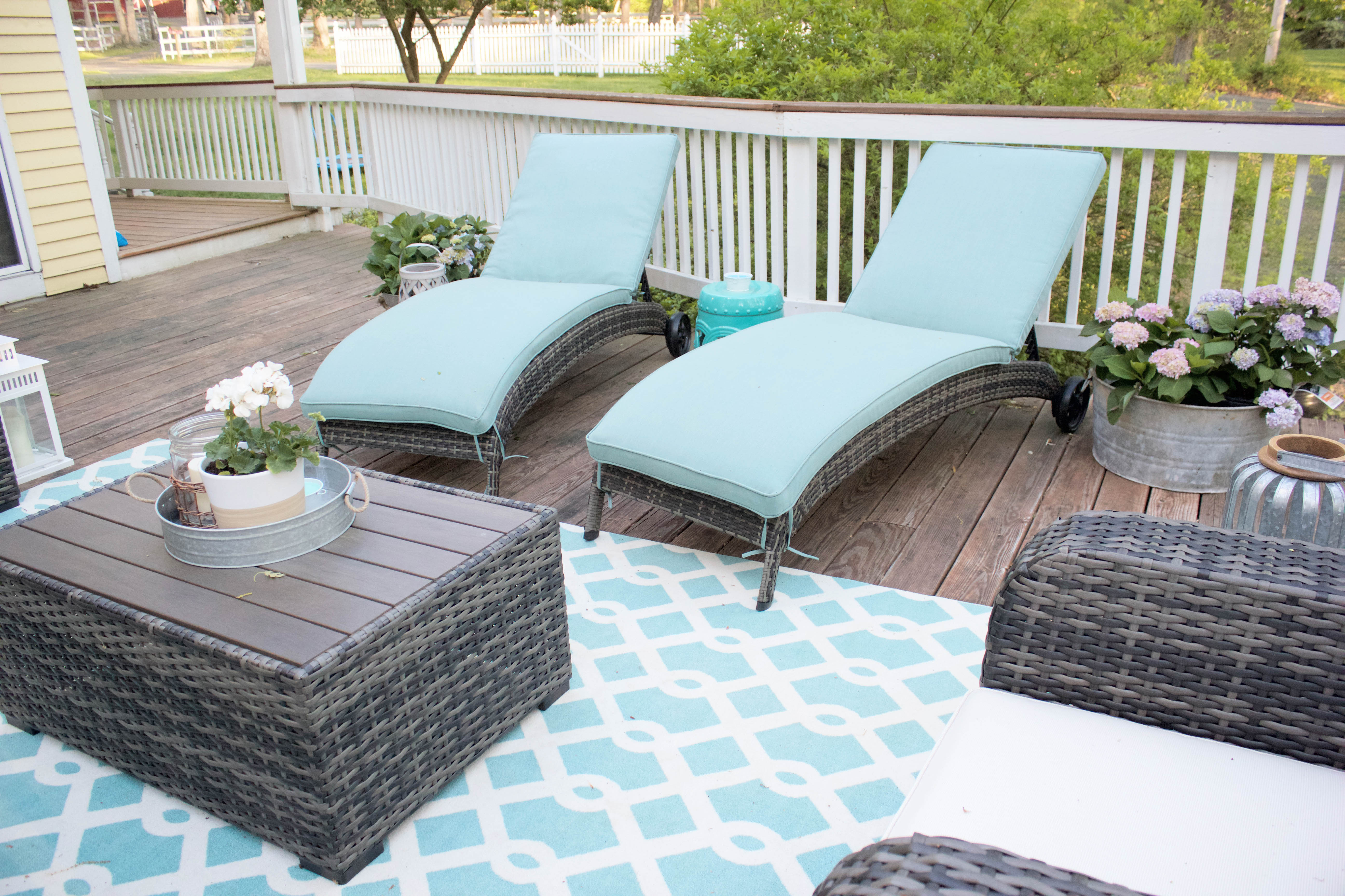Weu0027ve Been Enjoying Our Outdoor Patio Set From Raymour U0026 Flanigan For A Few  Weeks Now And Absolutely Love It. Itu0027s SO Relaxing Out There! Part 18