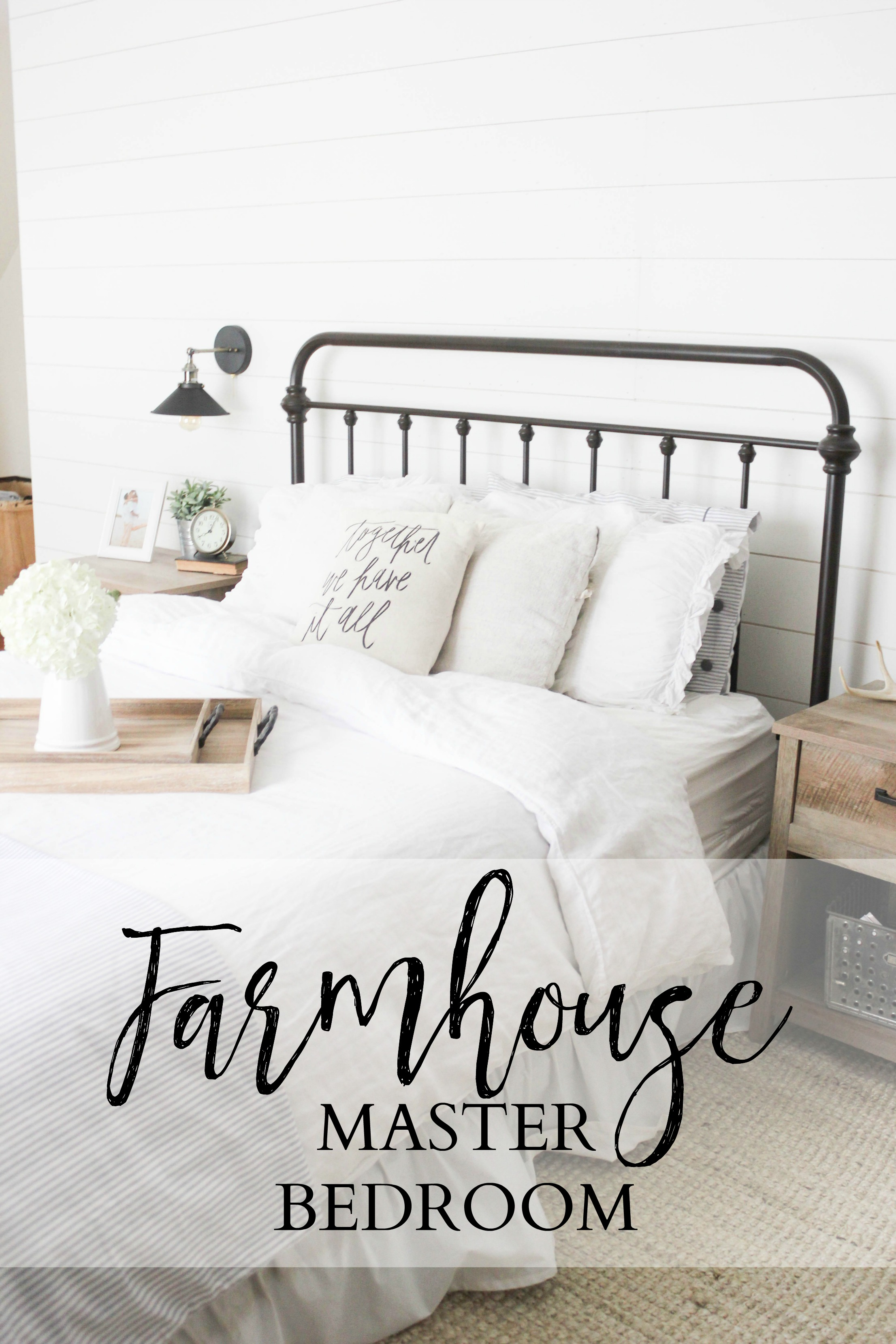 Farmhouse Bedroom 25Home   Farmhouse Master Bedroom   Lauren McBride. Farmhouse Bedroom. Home Design Ideas
