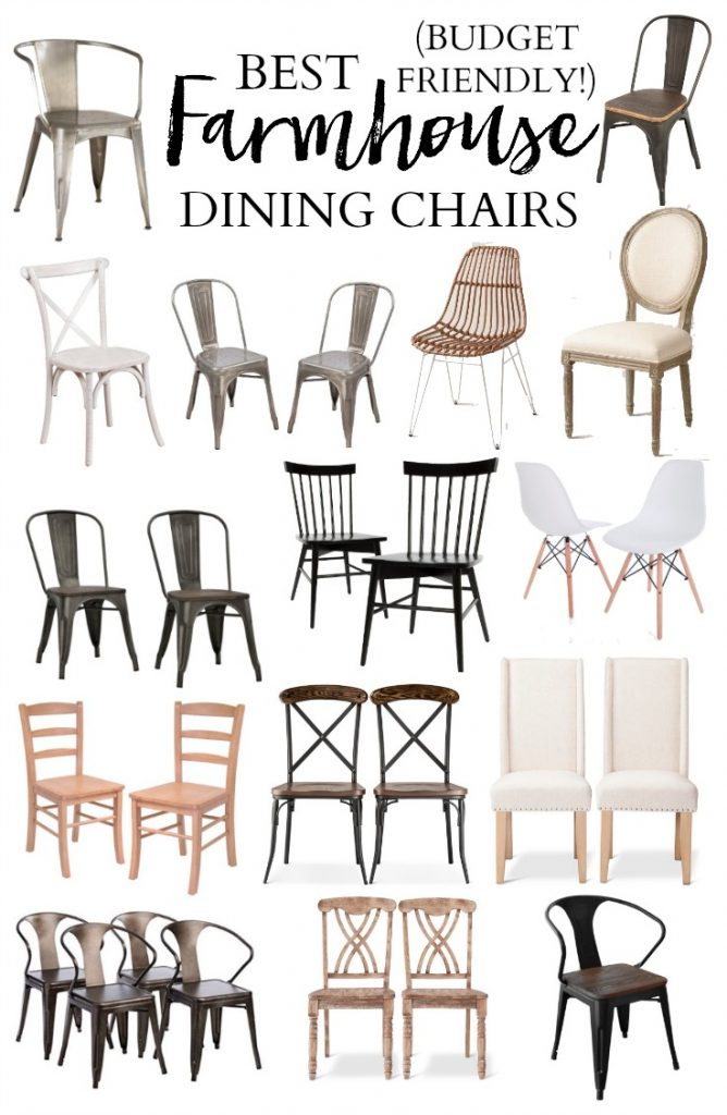 A Roundup Of The Best Farmhouse Dining Chairs To Make A Statement Around  Your Farmhouse Dining