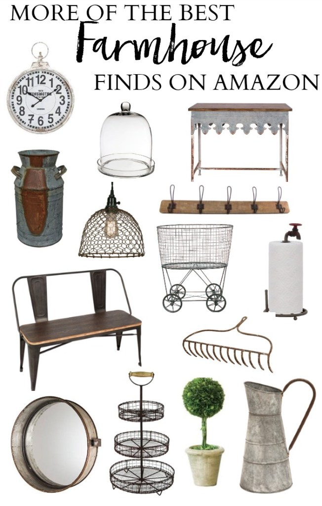 More of the best farmhouse finds on Amazon
