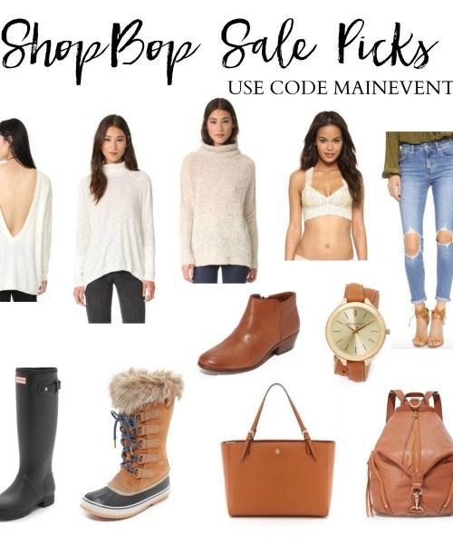 Style // ShopBop Main Event Sale