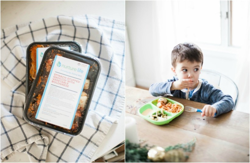How meal time are made easy with Nurture Life organic subscription food service for kids!