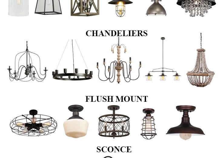 Home // Budget Friendly Farmhouse Lighting