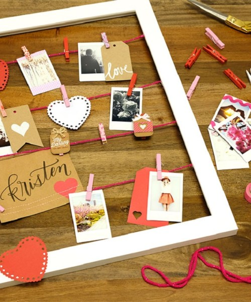 Home // DIY Valentine's Day Craft at Fujifilm in NYC!