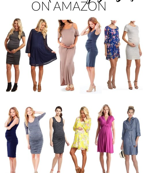 Style // Best Maternity Dresses on Amazon