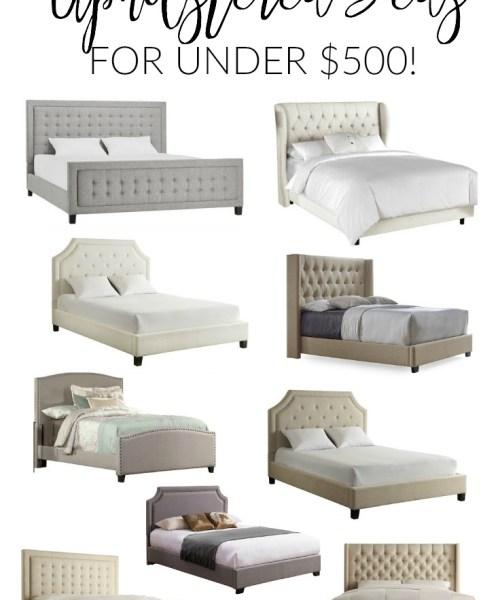 Home // Best Upholstered Beds for Under $500