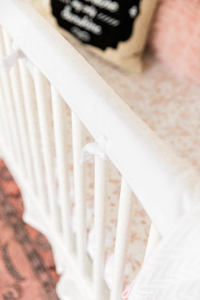 A list of the best baby registry items you never knew you needed and why they should be a priority on your baby registry! Crib rail covers a must have, find out why!