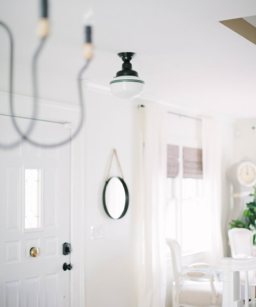 Home // How to Define Your Foyer Space