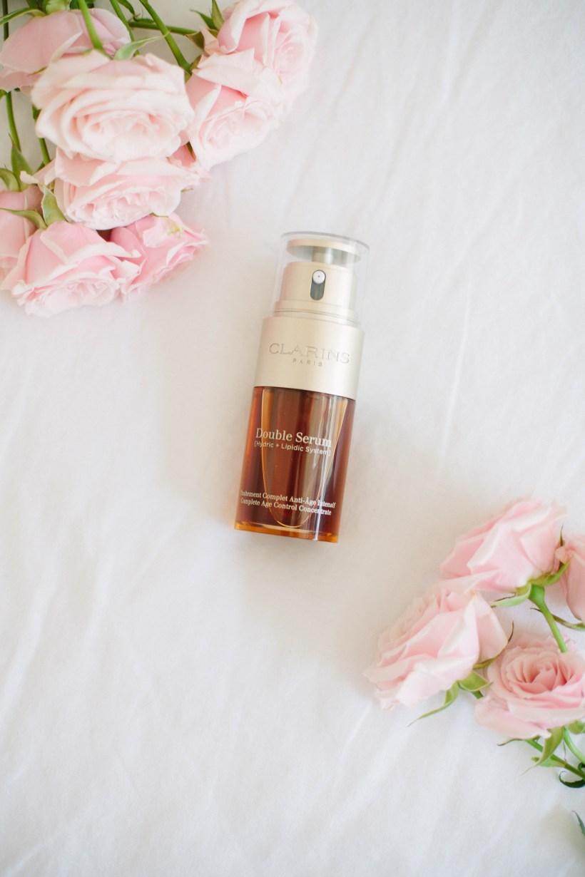 A review of Clarins Double Serum and why it's the one anti-aging product you should add to your skincare regimen.