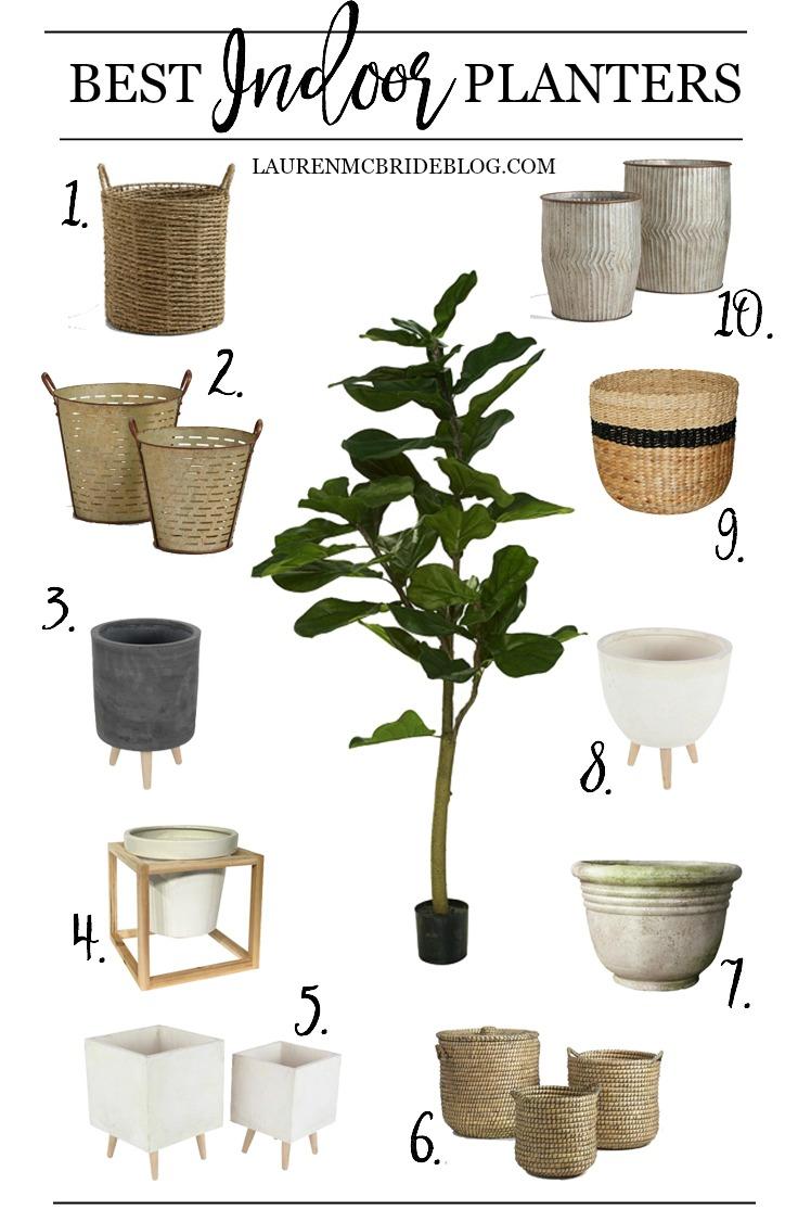 Best Indoor Planters - Lauren McBride