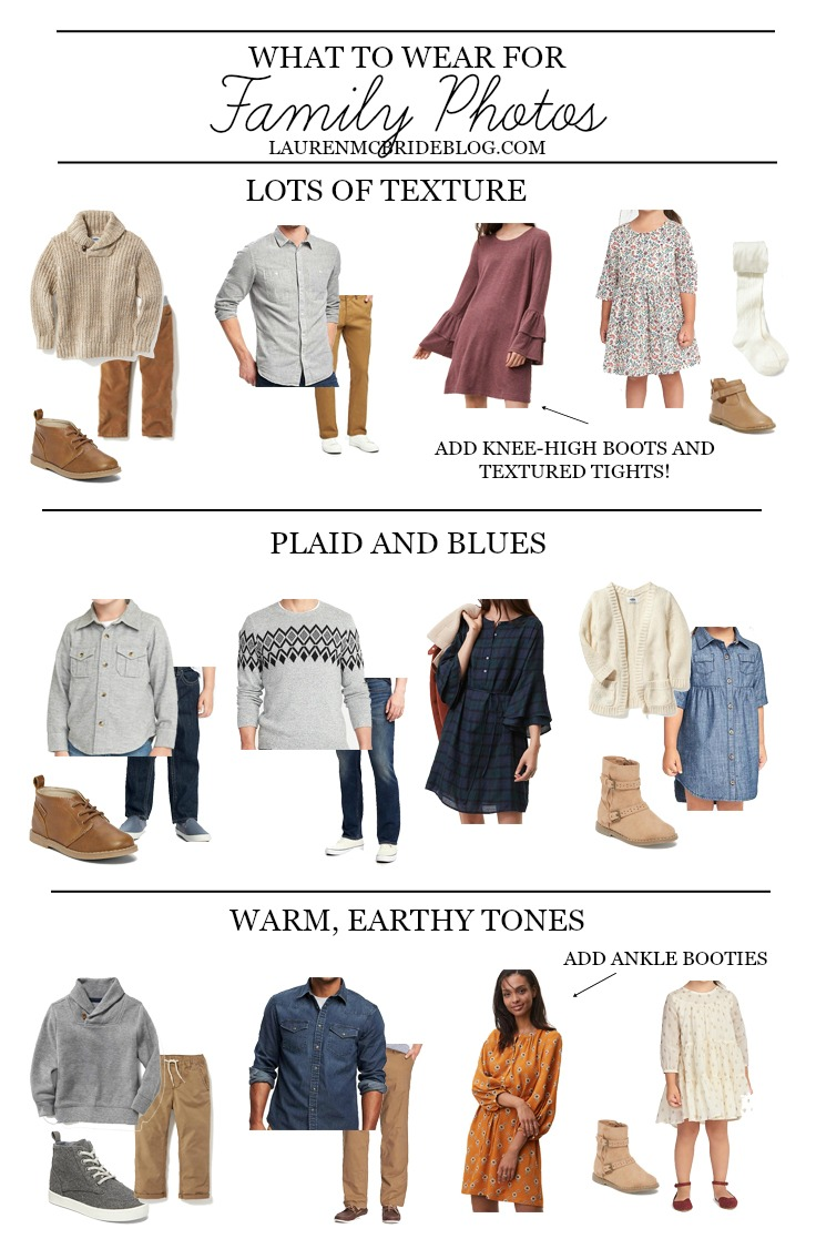 Life and style blogger Lauren McBride shares tips on What to Wear for Family Photos, including styling tips and outfit suggestions.