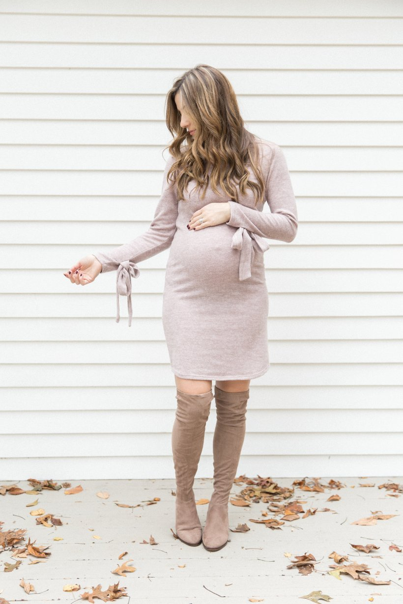 Life and style blogger Lauren McBride shares Special Occasion Maternity Dresses for family photos, baby showers, and maternity photo shoots!