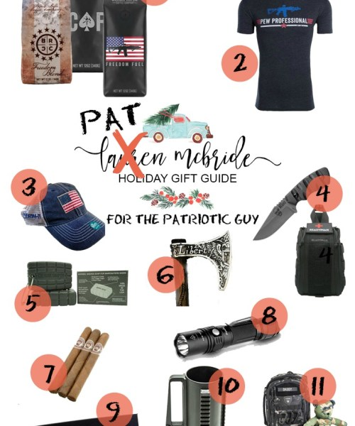 Holiday Gift Guide: For The Patriotic Guy