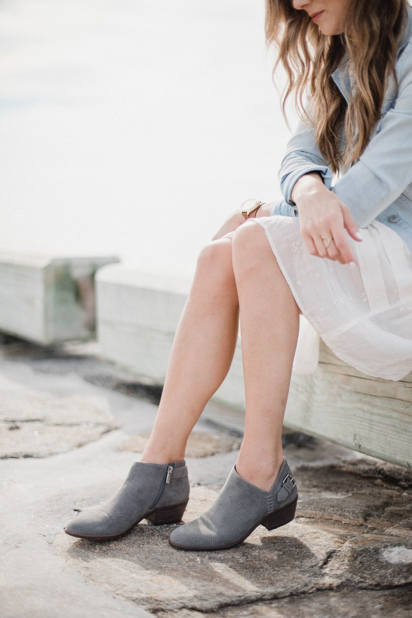 Connecticut life and style blogger Lauren McBride shares a selection of must-have fall booties from Vince Cameo's fall launch on QVC.