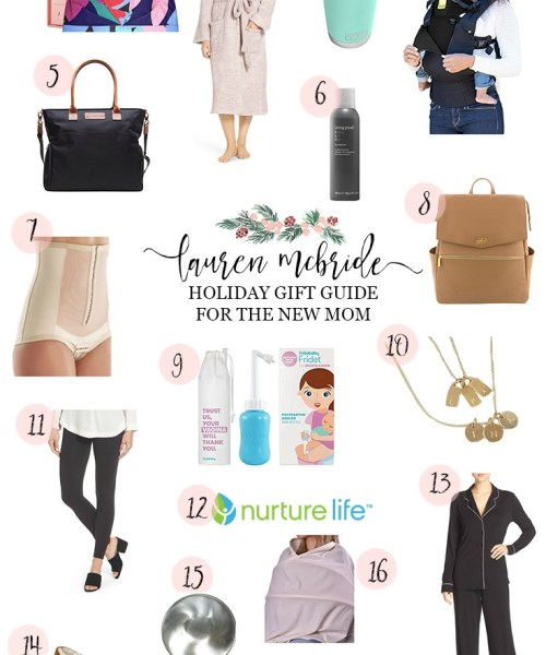 Holiday Gift Guide: For the New Mom