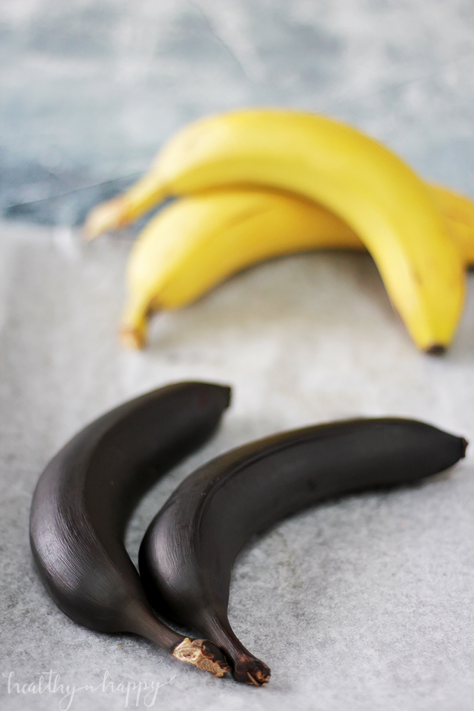 how to ripen bananas in the microwave