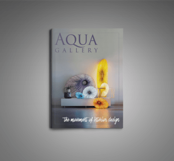 Aqua Gallery Spread