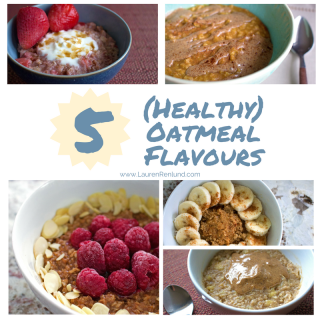 healthy oatmeal flavours
