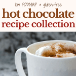 Low FODMAP Hot Chocolate Recipes Collection (Plus Whipped Cream!)