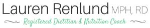 Lauren Renlund MPH RD Registered Dietitian and Nutrition Coach
