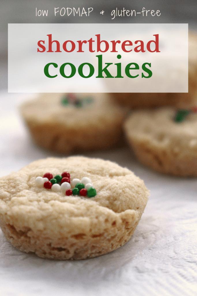 low fodmap shortbread cookie