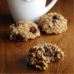 Healthy Low FODMAP Banana Oat Cookies