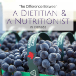 What's the Difference Between a Dietitian and a Nutritionist in Canada?