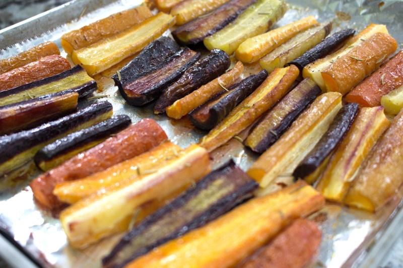 low fodmap easy roasted carrots